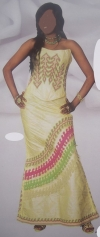 african dress/bubu rich bazin