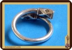 Tuareg silver ring (925/1000)  Ref 1003