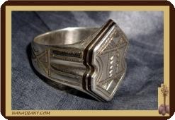 Tuareg Silber Ring (925/1000) Ref 1006
