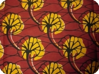 lappa of African fabric 100% cotton