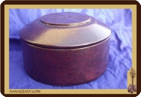Tuareg leather box