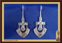 Earrings sterling silver  Ref: C1-B01