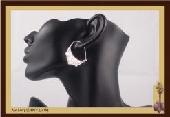 Earrings sterling silver  Ref: C1-B03