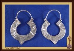 Earrings sterling silver  Ref: C1-B11