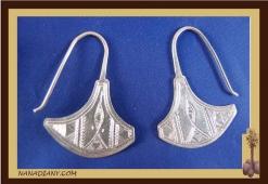 Earrings sterling silver  Ref: C1-B13