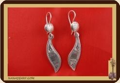 Earrings sterling silver  Ref: C1-B20