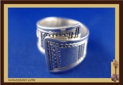 Tuareg silver ring (925/1000)  Ref C1-BG01