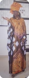 African dress/ Bubu  rich bazin from Mali Ref 5608