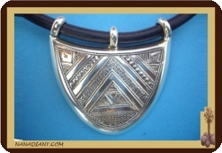 Tuareg necklace in sterling silver