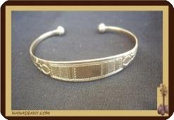 Bracelet touareg en argent massif  Ref 2005