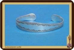 Bracelet touareg en argent massif  Ref 2006
