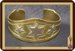 Armband Tuareg Silber und Bronze  Ref 2100
