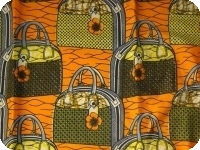 lappa of African fabric 100% cotton- Real wax
