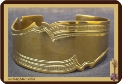 Bracelet touareg en bronze  Ref 2300