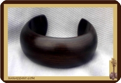 Massive ebony bracelet (Medium)