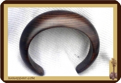 Massive ebony bracelet (Small)