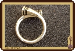 African touareg ring in sterling silver  Mali ref 1004