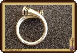 afrikanischer Ring der silberne massige touareg Mali Afrika Ref. 1004